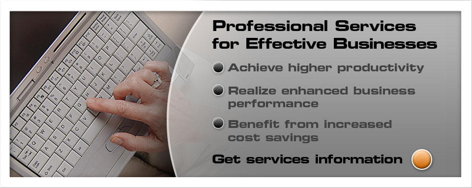 Professional services for effective businesses